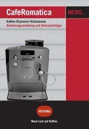 CafeRomatica 630/650 (PDF-Datei) - Nivona