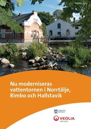 Nyhetsbladet hösten 2013 - Veolia Vatten