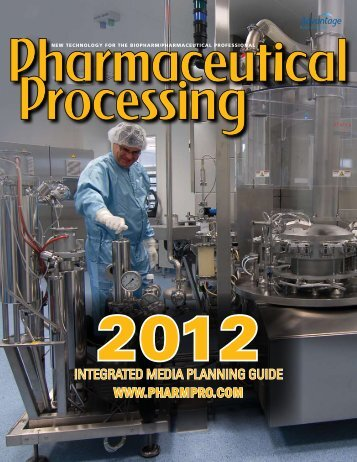 The World of Pharmaceutical Processing - Nextmediahub.com