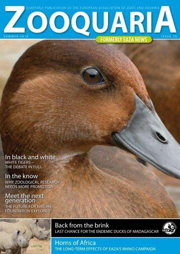 O O Q U A R I - European Association of Zoos and Aquaria