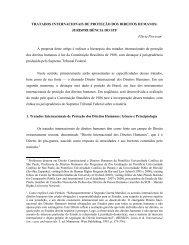 Tratados Internacionais de proteção dos Direitos Humanos - revista ...