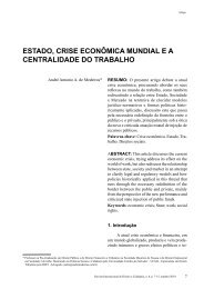 ESTADo, CriSE ECoNÔmiCA muNDiAL E A ... - Reid.org.br