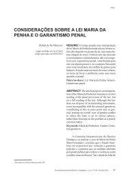 considerações sobre a lei maria da penha eo ... - Reid.org.br