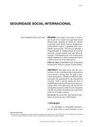 SEGuriDADE SoCiAL iNTErNACioNAL - revista internacional direito ...