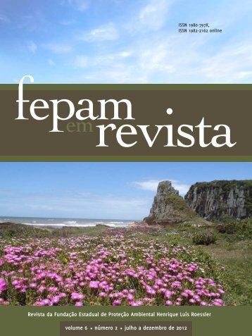 2012-Vol.6-Número 2 - Fepam