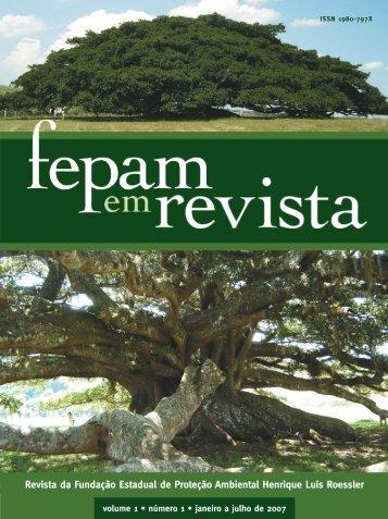 Revista da Fundação Estadual de Proteção Ambiental ... - Fepam