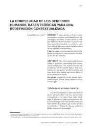 la complejidad de los derechos humanos. bases ... - Reid.org.br