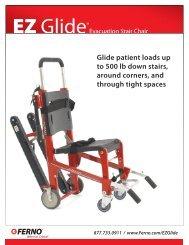 EZ Glide Stair Chair Sales Sheet - Ferno