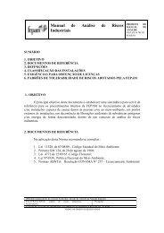Manual de Análise de Riscos Industriais - Fepam