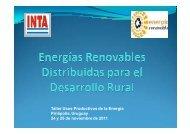 Energías Renovables distribuidas para el desarrollo rural - CEFIR