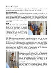 Opening FPA Coornhert, 18 mei 2011 - EFP