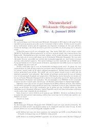 004 - Nederlandse Wiskunde Olympiade