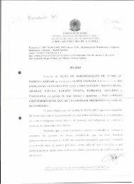 a íntegra da decisão - Xingu Vivo