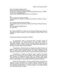 ofício - Xingu Vivo