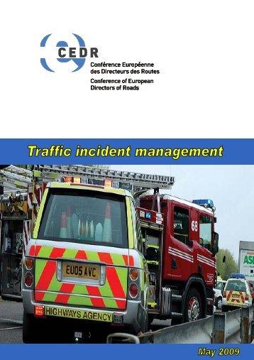 Traffic incident management - CEDR