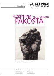 PRESSETEXT Florentina Pakosta - Leopold Museum