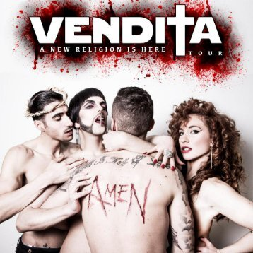 Dossier Vendita - A New Religion Is Here Tour 2015