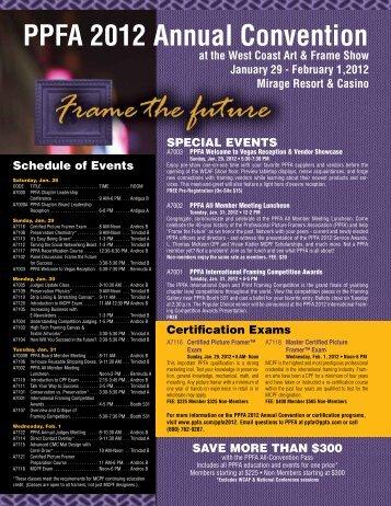 PPFA 2012 Annual Convention - Photo Marketing Association ...