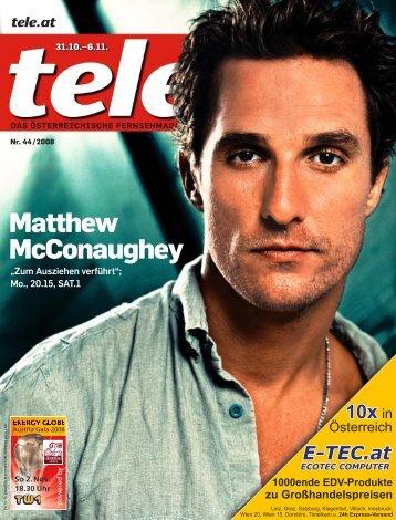 Matthew McConaughey - Tele.at