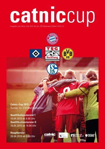 Catnic Cup 2015 Turnierheft