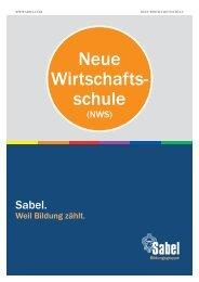 Sabel Neue Wirtschaftsschule Nürnberg