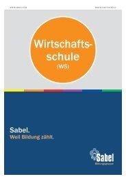 Sabel Wirtschaftsschule Nürnberg