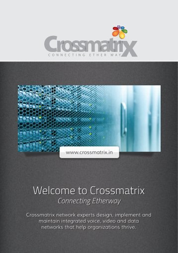 Welcome to Crossmatrix