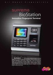 Innovative Fingerprint Terminal