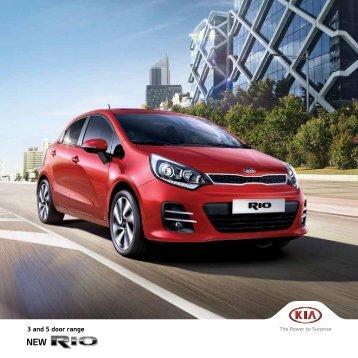 Kia Rio Brochure