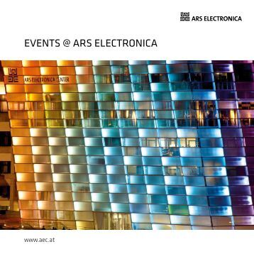 EvEnts @ Ars ElEctronicA - Ars Electronica Center