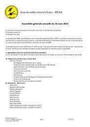 2013 - Modèles Réduits de la Gruyère