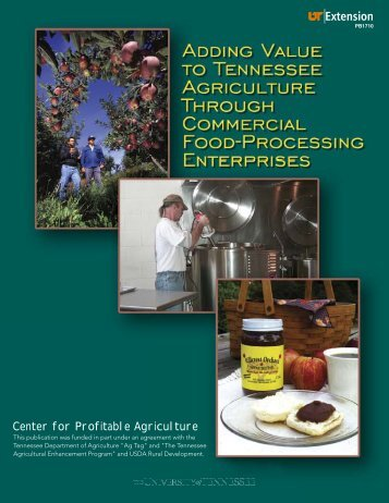 Adding Value to Tennessee Agriculture Through Commercial Food ...
