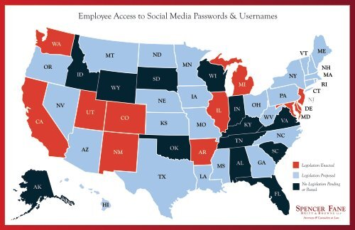 Employee Access to Social Media Passwords & Usernames