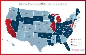 Employee Access to Social Media Passwords & Usernames