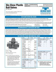 VPSC-4 Price Sheet PDF - Colonial Engineering