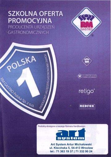Art System Artur Michałowski ul. Klecińska 5, 54-413 ... - Gastrosklep