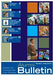 Alumni News Bulletin 2012 13 fifth edition - Centre for Commercial ...