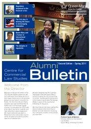CCLS Alumni News Bulletin Second Edition 2011 [PDF 660kb]