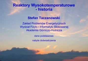 Historia HTR