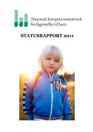 2011 - Nasjonalt kompetansenettverk for legemidler til barn