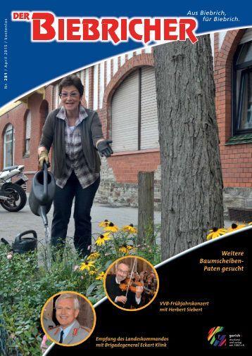 DER BIEBRICHER, Ausgabe 281, April 2015