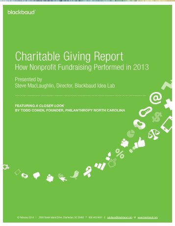 2013.CharitableGivingReport