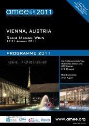 VIENNA, AUSTRIA 2011 - AMEE