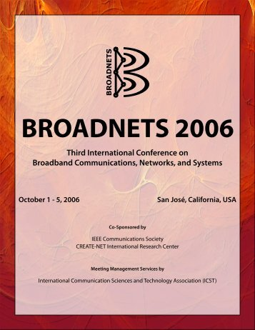broadnets 2006 - The 8th International Conference on Broadband ...