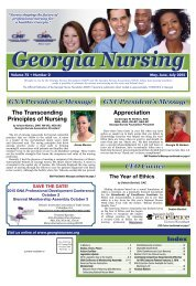Georgia Nursing - May 2015