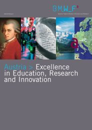 Austria: Excellence in Education, Research and Innovation