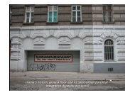 vienna's historic ground floor and its socio-urban potential - CORP