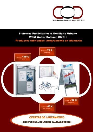 Sistemas Publicitarios y Mobiliario Urbano WSM ... - DOD 97 SL