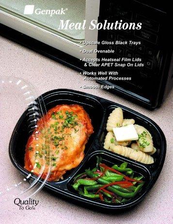 Ovenable Food Trays - Genpak