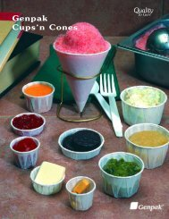 Paper Cups And Cones, Including Condiment Cups - Genpak